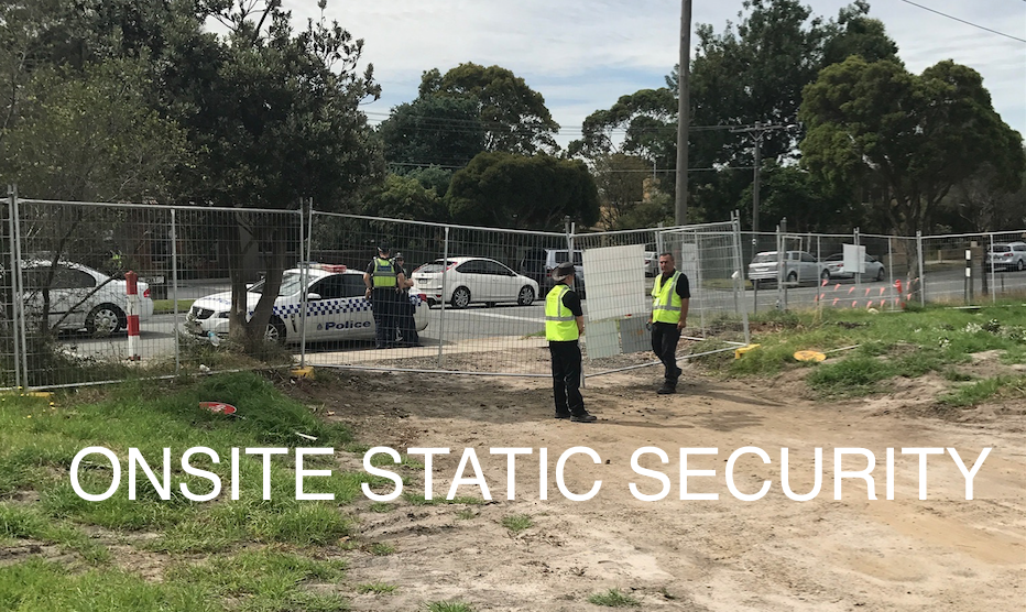 Onsite Static Security Guards Melbourne