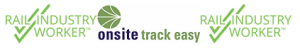 Rail Industry Worker Onsite Track Easy