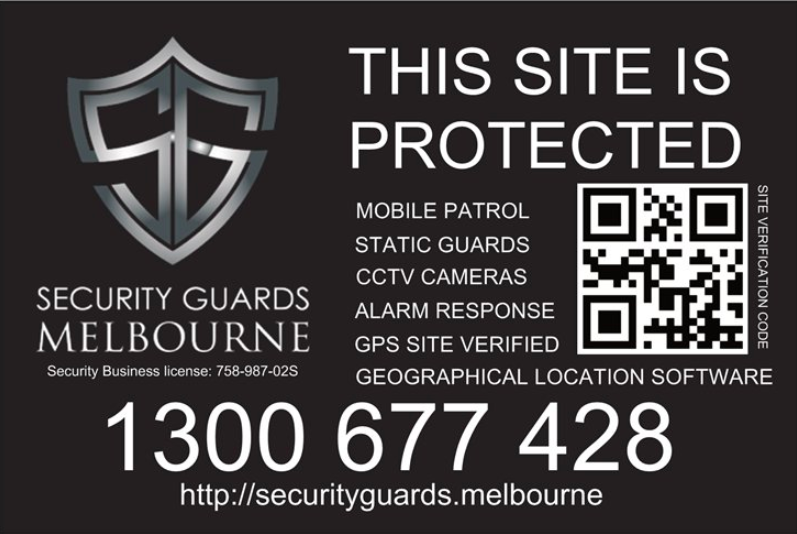 Construction/Building Site Security Guards Melbourne