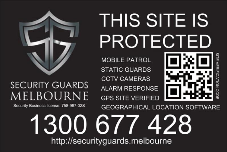 Construction/Building Site Security Guards Melbourne