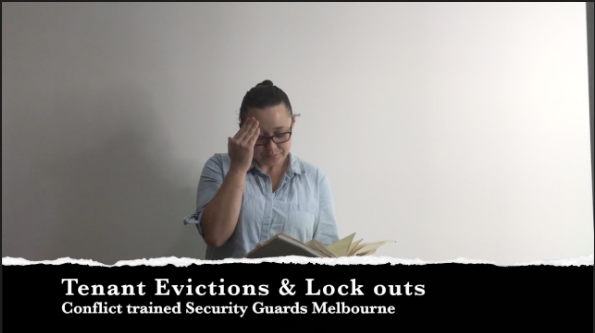 Tenant evictions and tenant lockouts