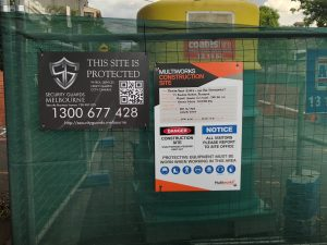 Civil Works Site Security Melbourne
