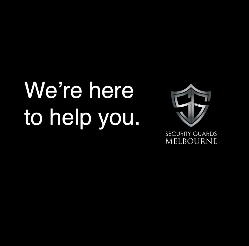 We're here to help you.